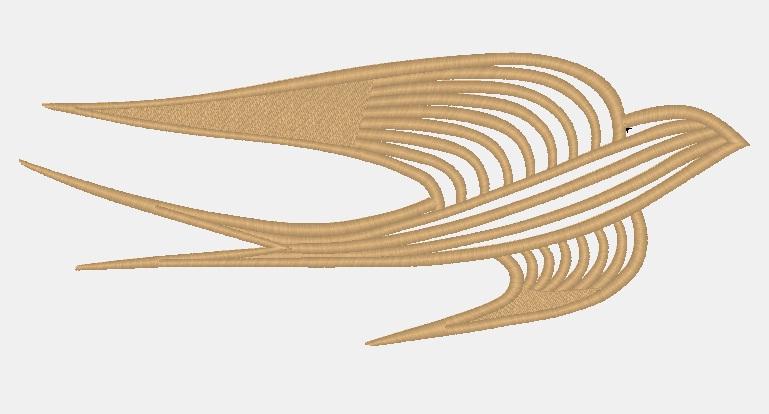 золотая вышивка (компьютерный дизайн)