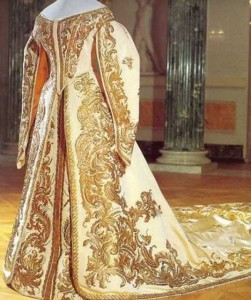 золотая вышивка